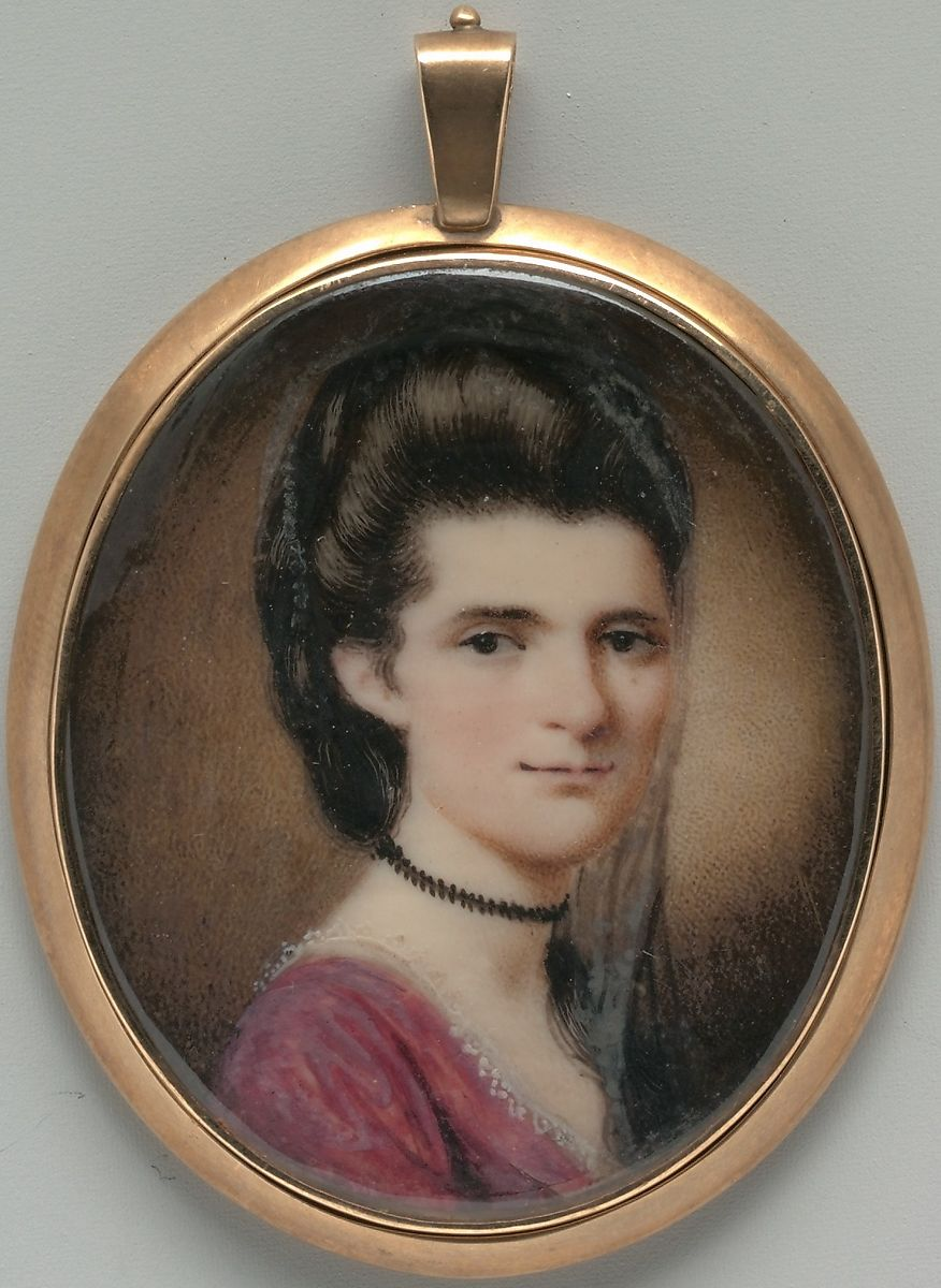Elizabeth Ann Timothy, Henry Benbridge (American, Philadelphia 1743–1812 Philadelphia), Watercolor and gouache on ivory, American