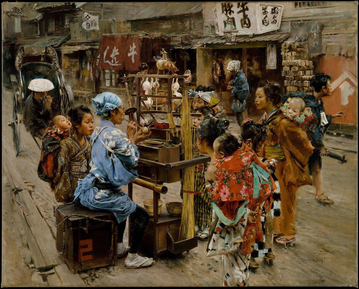 The Ameya, Robert Frederick Blum (American, Cincinnati, Ohio 1857–1903 New York), Oil on canvas, American