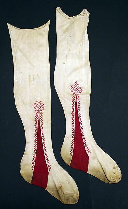 Stockings, silk, Italian