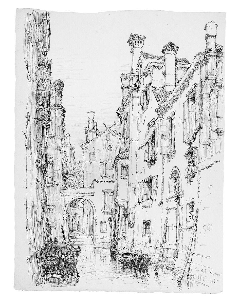 Andrew Fisher Bunner   Rio del Forner, Venice   American   The Met