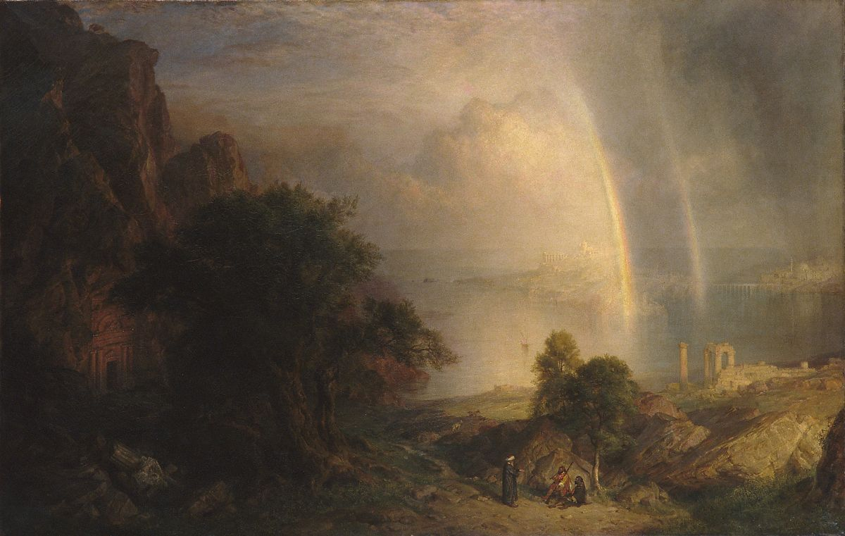 Frederic Edwin Church The Aegean Sea American The Met
