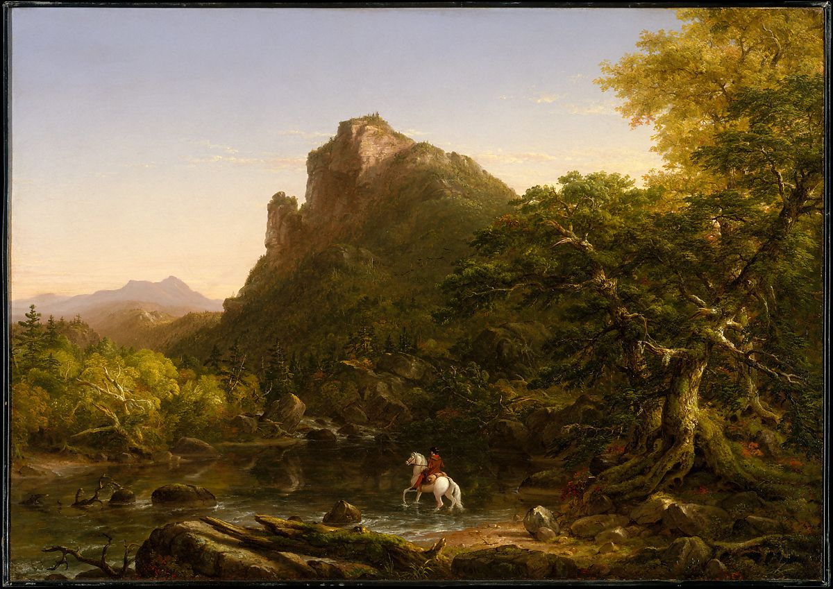 Ford Edge Dimensions >> Thomas Cole | The Mountain Ford | American | The Met