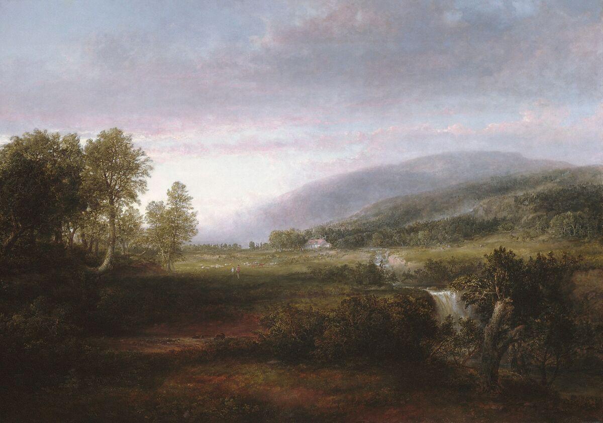 Spring Landscape, Thomas Doughty (American, Philadelphia, Pennsylvania 1793–1856 New York), Oil on canvas, American