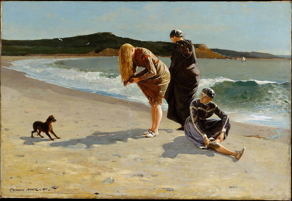 Winslow Homer | Eagle Head, Manchester, Massachusetts (High Tide) | American | The Met