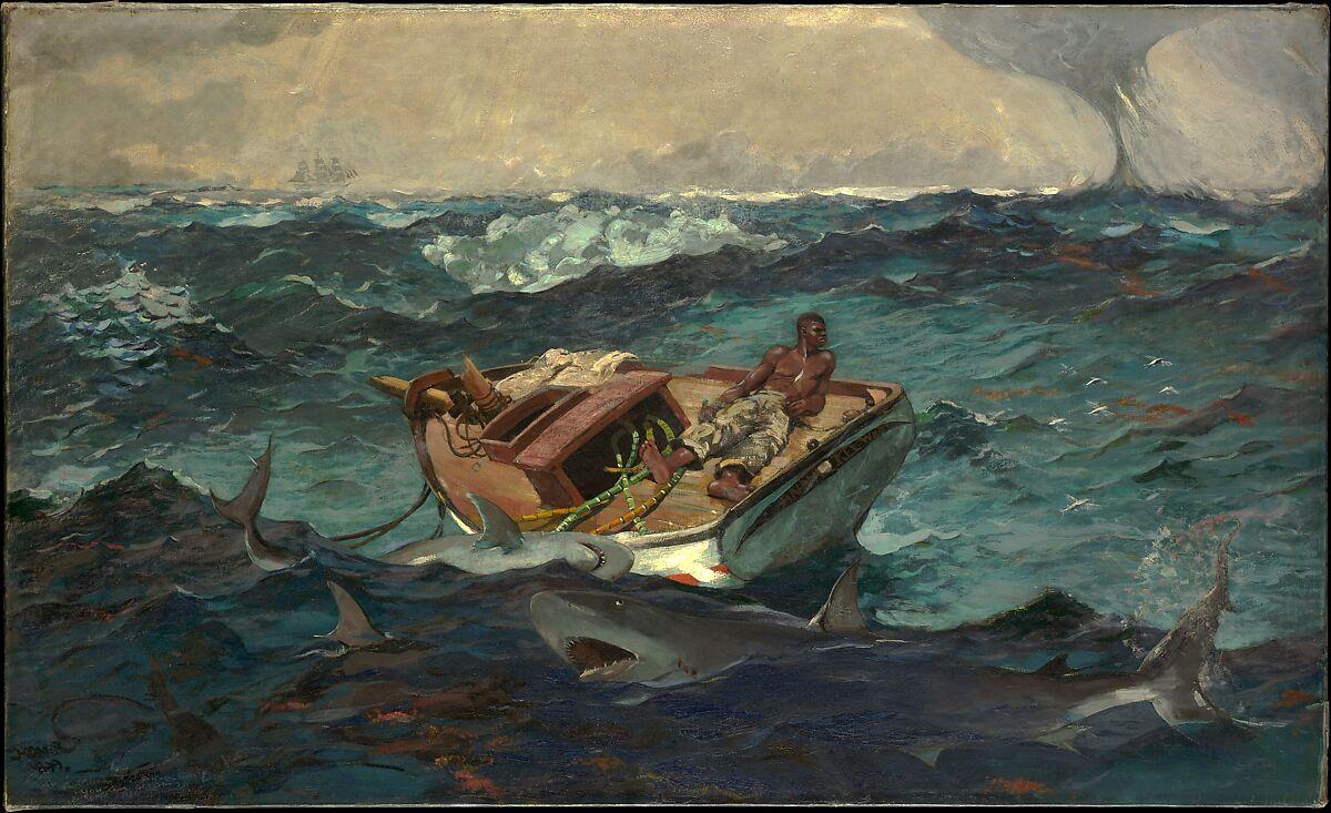 The Gulf Stream, Winslow Homer (American, Boston, Massachusetts 1836–1910 Prouts Neck, Maine), Oil on canvas, American