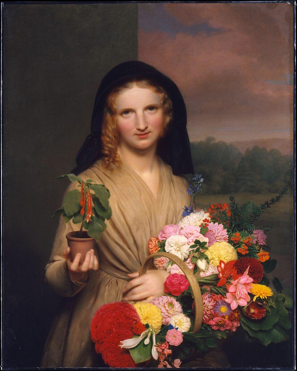 Charles cromwell ingham the flower girl american the met the flower girl charles cromwell ingham american born ireland dublin 1786 izmirmasajfo