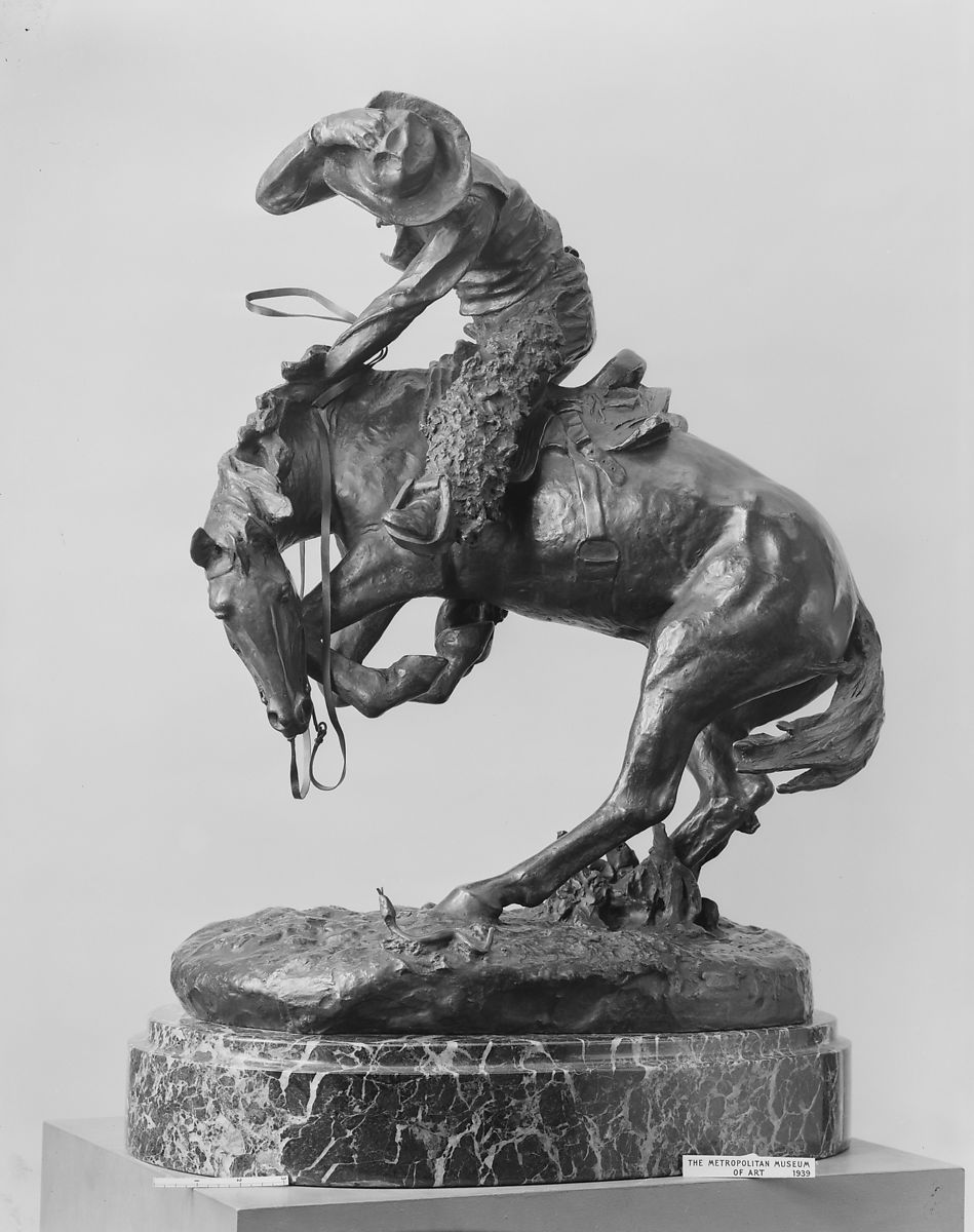 f17abe394b2 Frederic Remington   The Rattlesnake   American   The Met