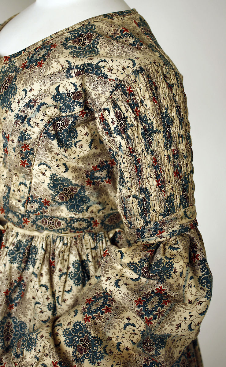 Dress, cotton, British