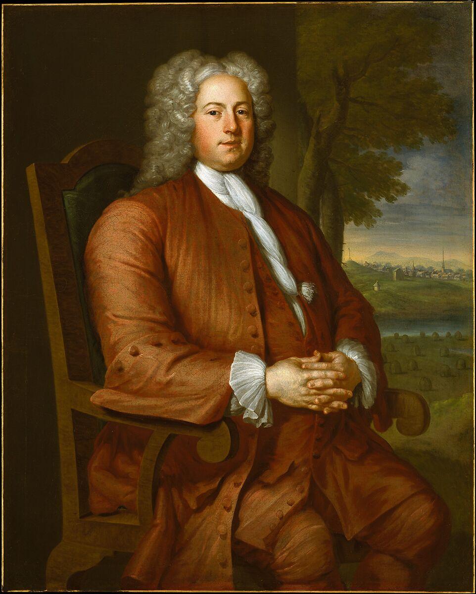 Francis Brinley, John Smibert (American, Edinburgh, Scotland 1688–1751 Boston, Massachusetts), Oil on canvas, American