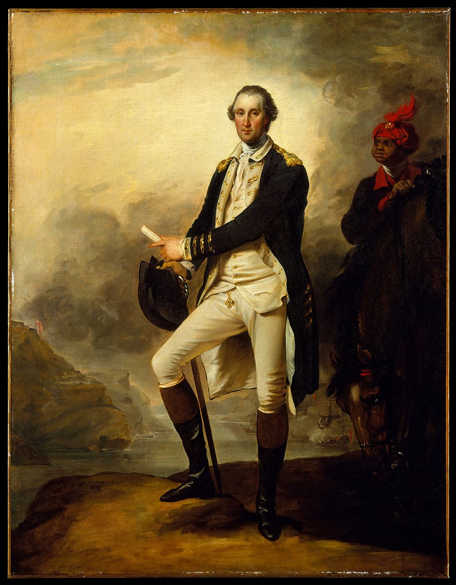 George Washington and William Lee, John Trumbull (American, Lebanon, Connecticut 1756–1843 New York), Oil on canvas, American