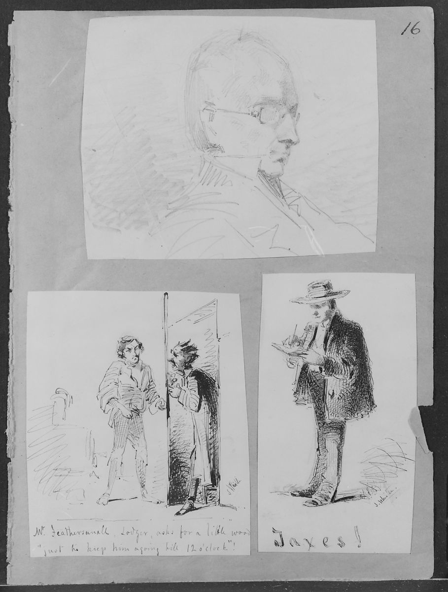 James McNeill Whistler | Taxes! (from Sketchbook) | American | The Met