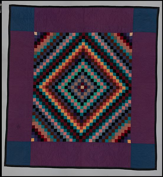 Amish Maker Quilt Sunshine And Shadow Pattern American The Met
