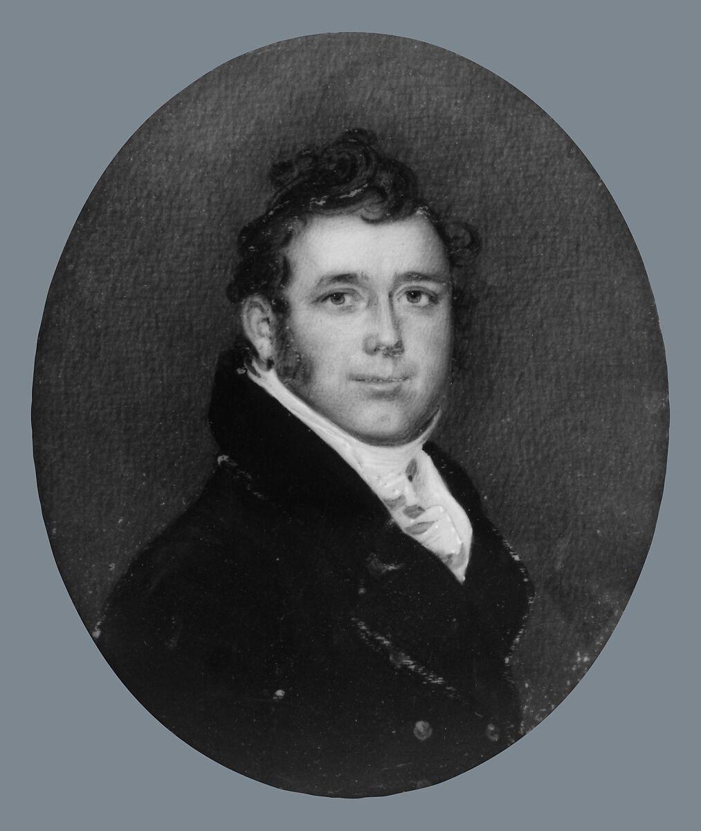 William Edward Wilmerding, Benjamin Trott (ca. 1770–1843), Watercolor on ivory, American