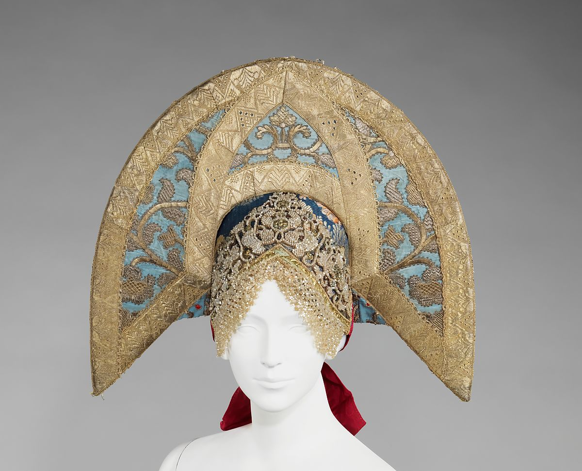 Headdress | Russian | The Met