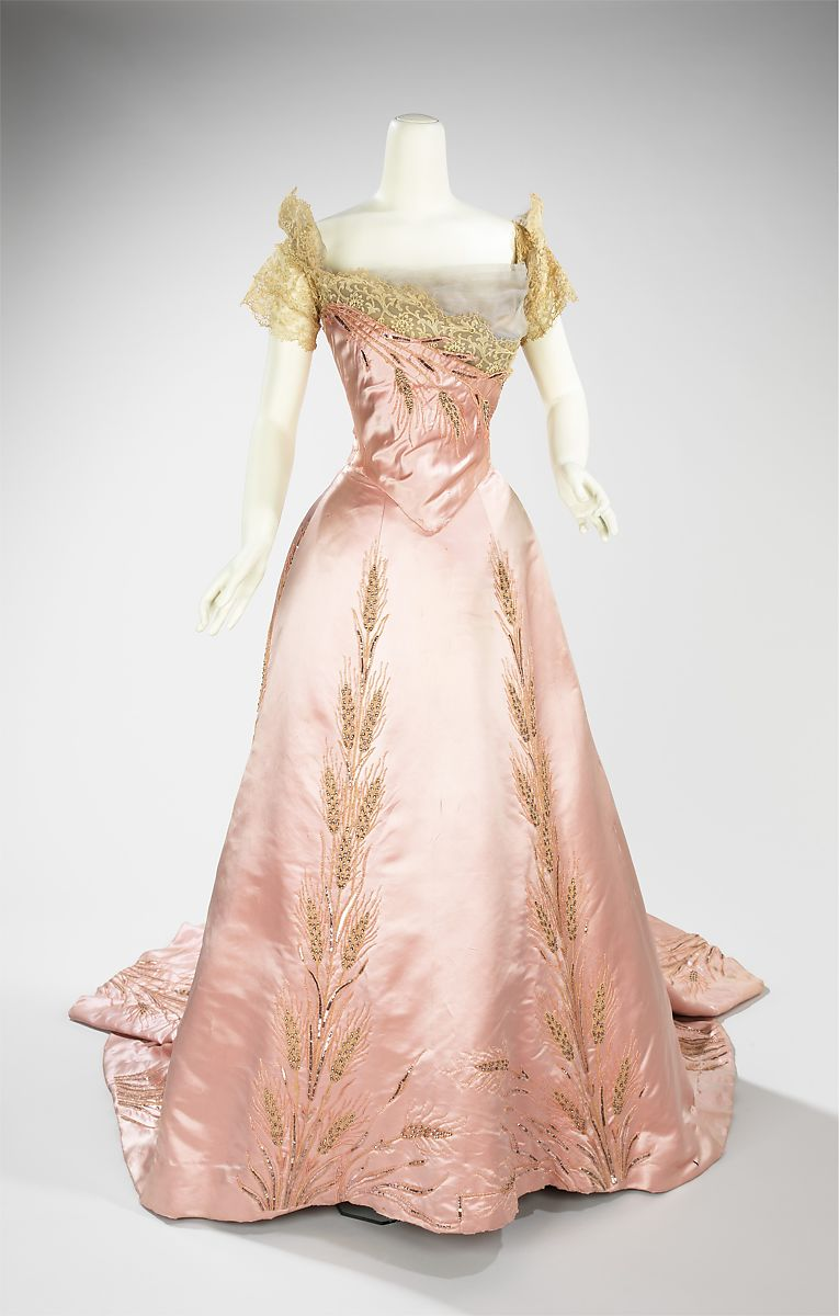 House of Worth | Ball gown | French | The Met
