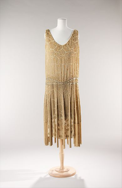 Edward Molyneux Evening Dress French The Met