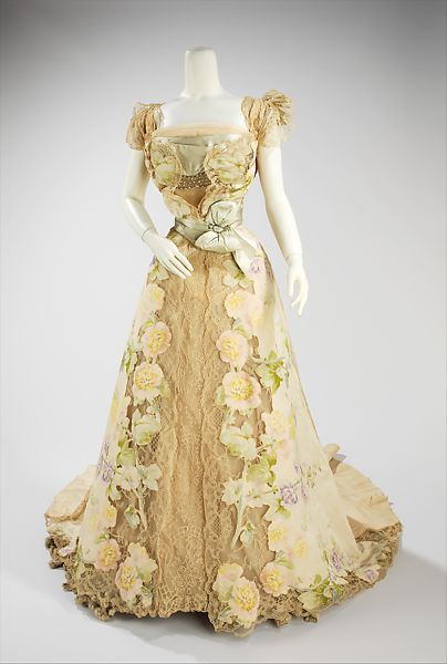 House of Worth | Evening dress | French | The Met