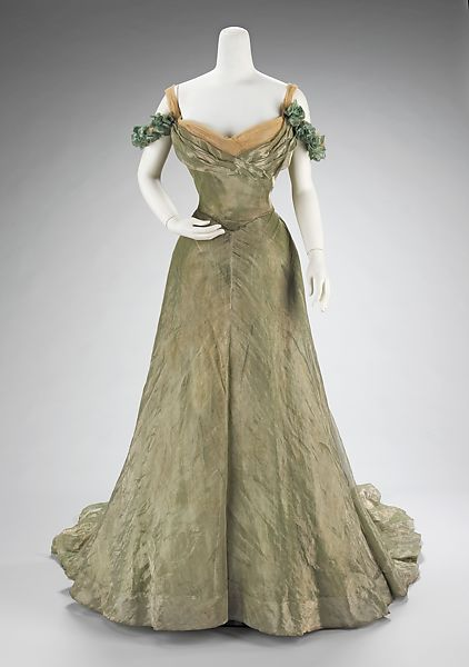 Ball gown, Jacques Doucet (French, Paris 1853–1929 Paris), silk, metal, French