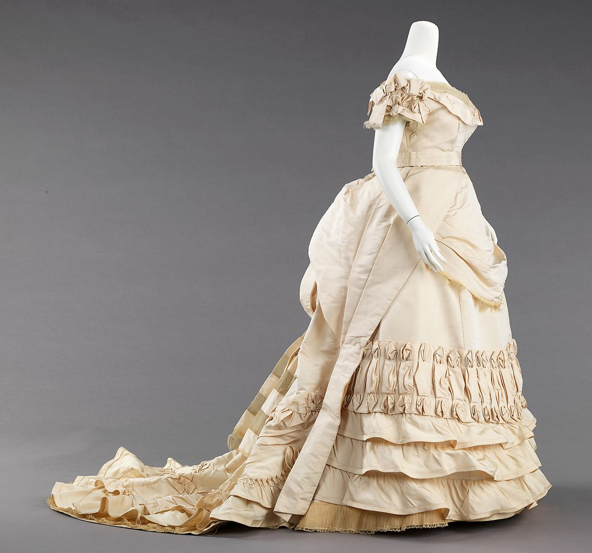 Attributed to House of Worth | Ball gown | probably French | The Met