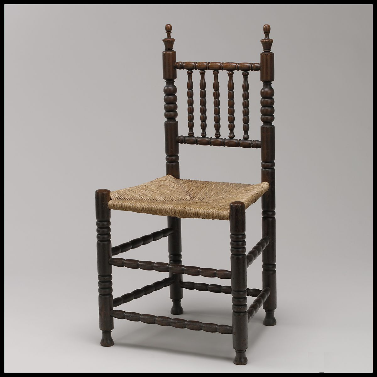 Spindle-back chair  American  The Met