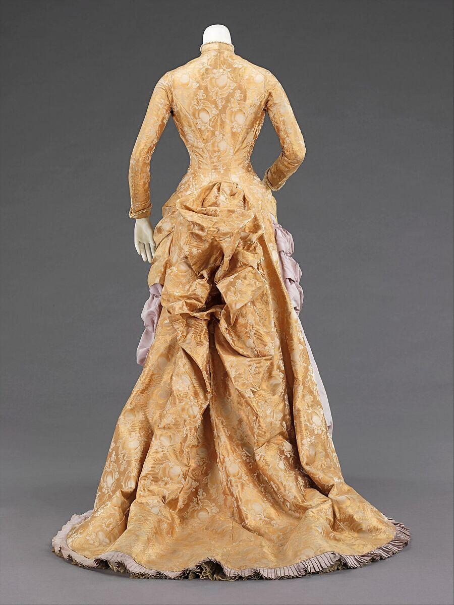 Evening dress, Wechsler & Abraham, silk, American