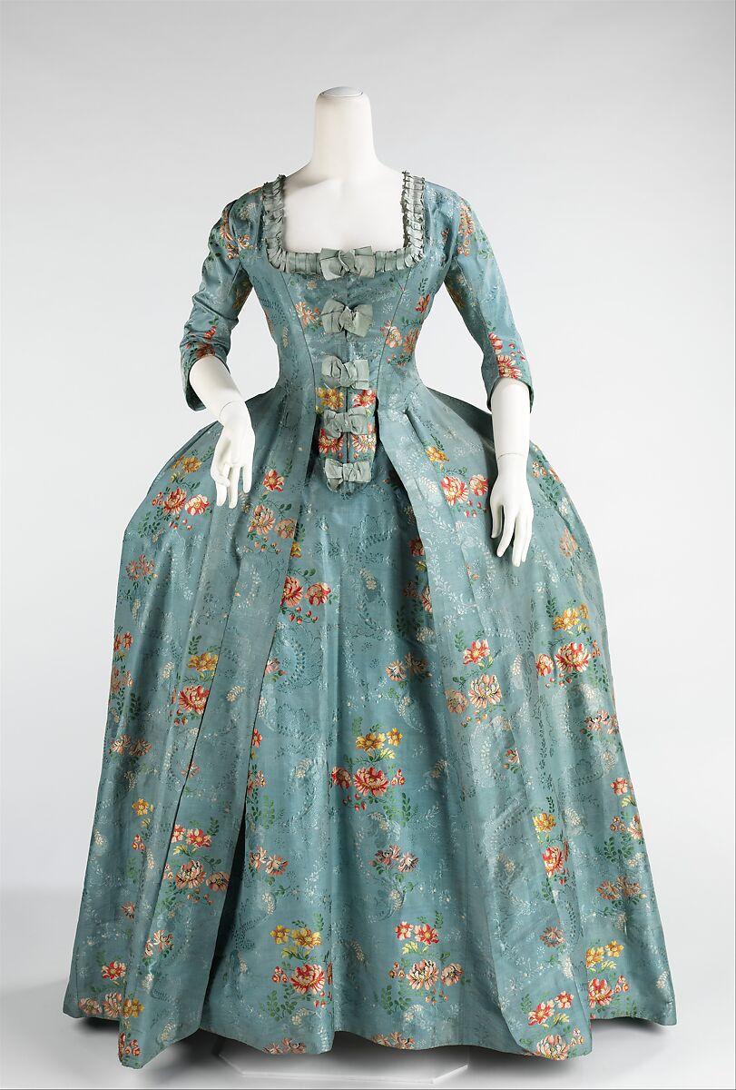 Robe à la Française | French | The Metropolitan Museum of Art