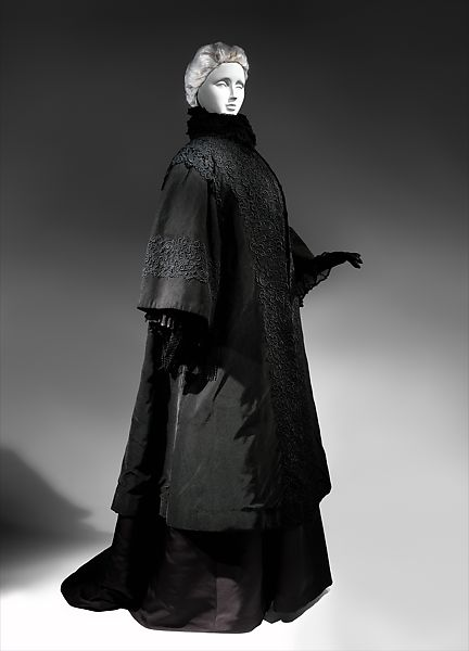 House of Worth | Mourning coat | French | The Met