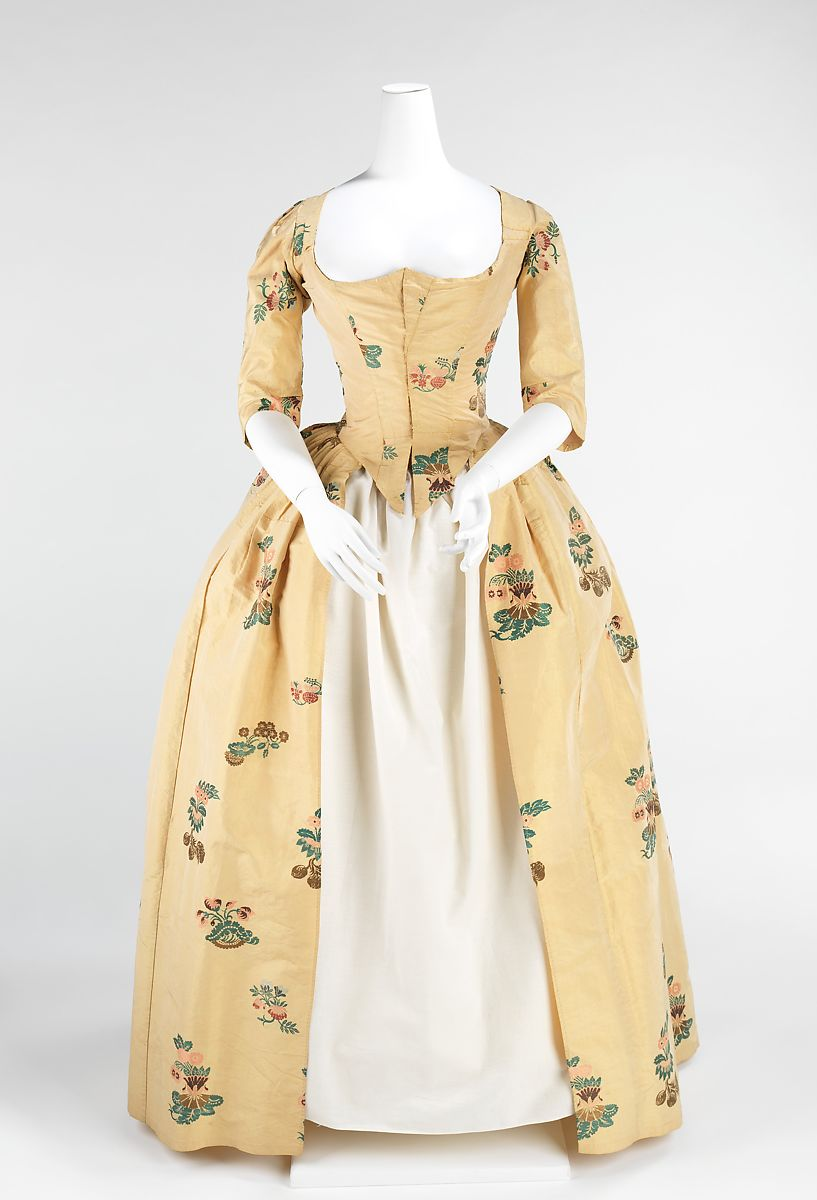Robe à l'Anglaise   British   The Met