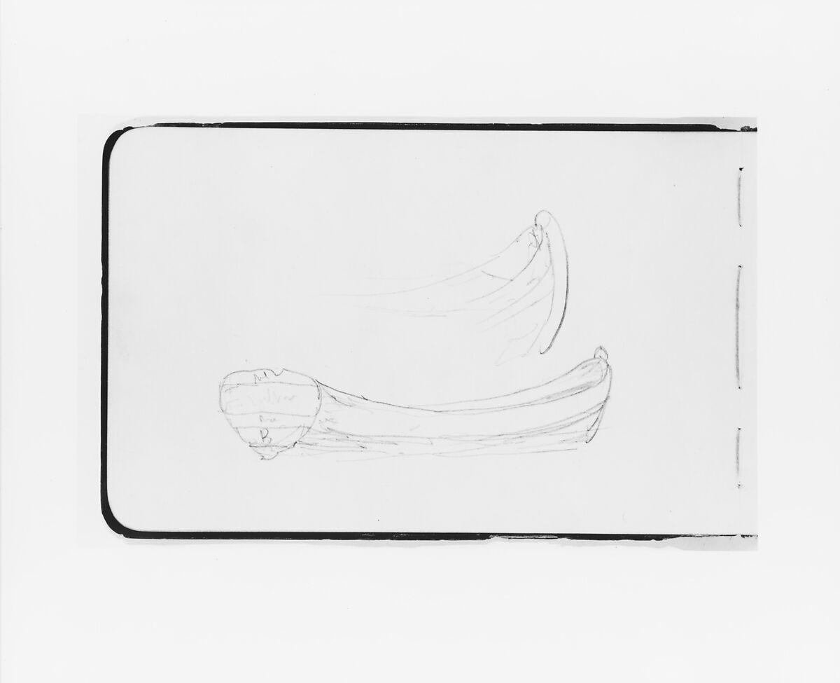 Albert Bierstadt   Sketches of Rowboats (from Sketchbook)   American   The Met