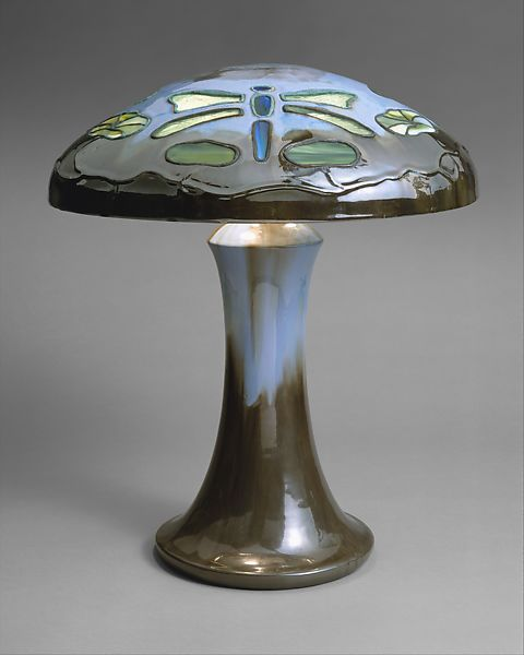 Fulper Pottery Company Table Lamp American The Met