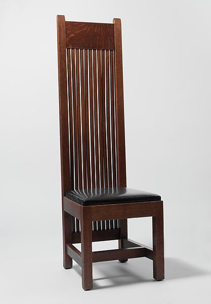 Side Chair Frank Lloyd Wright American Richland Center Wisconsin 1867 1959