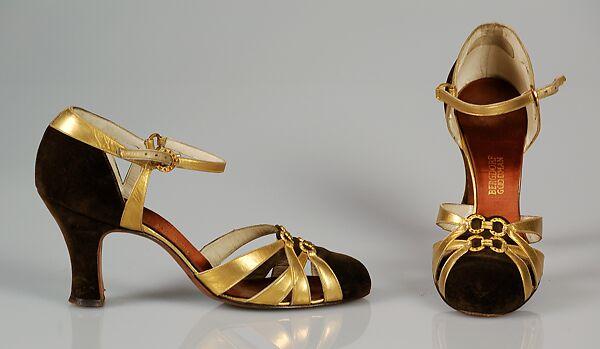 4eff4b95c Bergdorf Goodman | Evening shoes | American | The Met