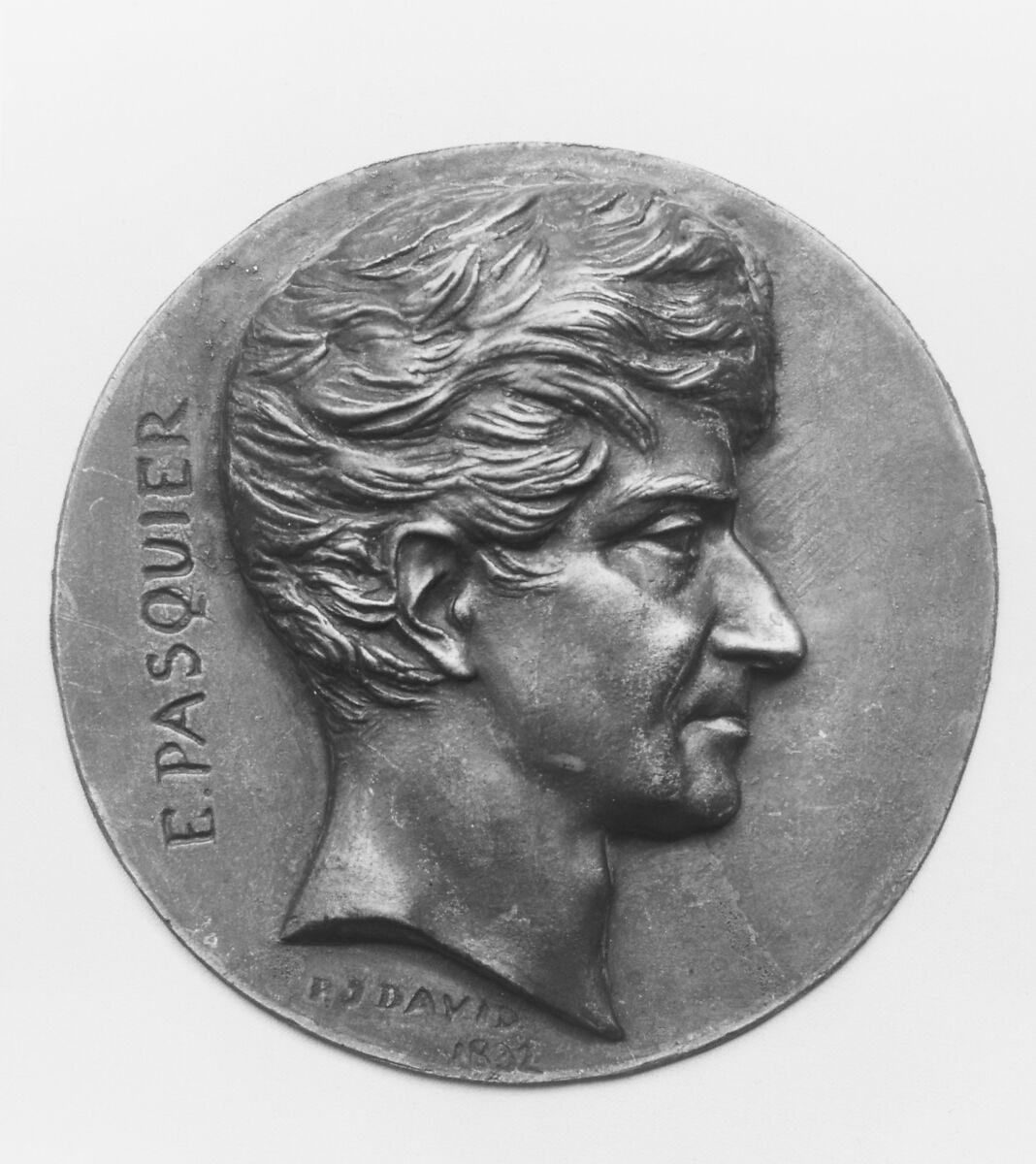 Pierre Jean David d'Angers | Êtienne Denis, Duc de Pasquier (1767–1862), French statesman | French | The Met