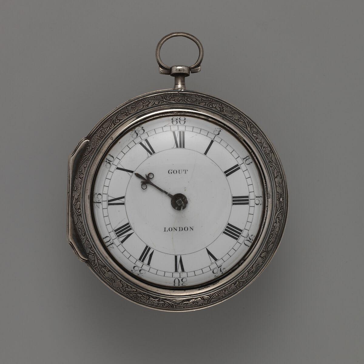 Watchmaker: Ralph Gout | Watch | British, London | The Met