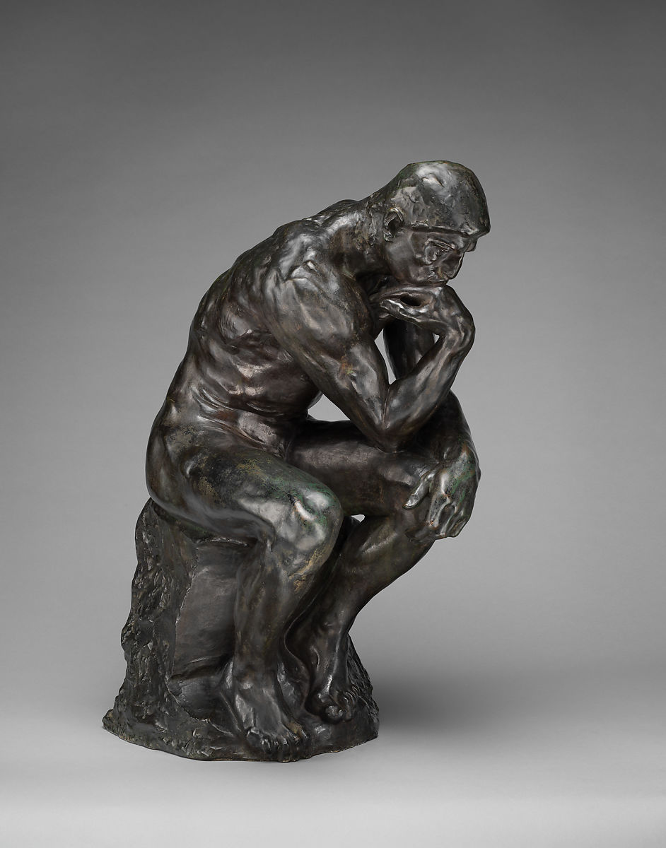 Auguste Rodin | The Thinker | French | The Met