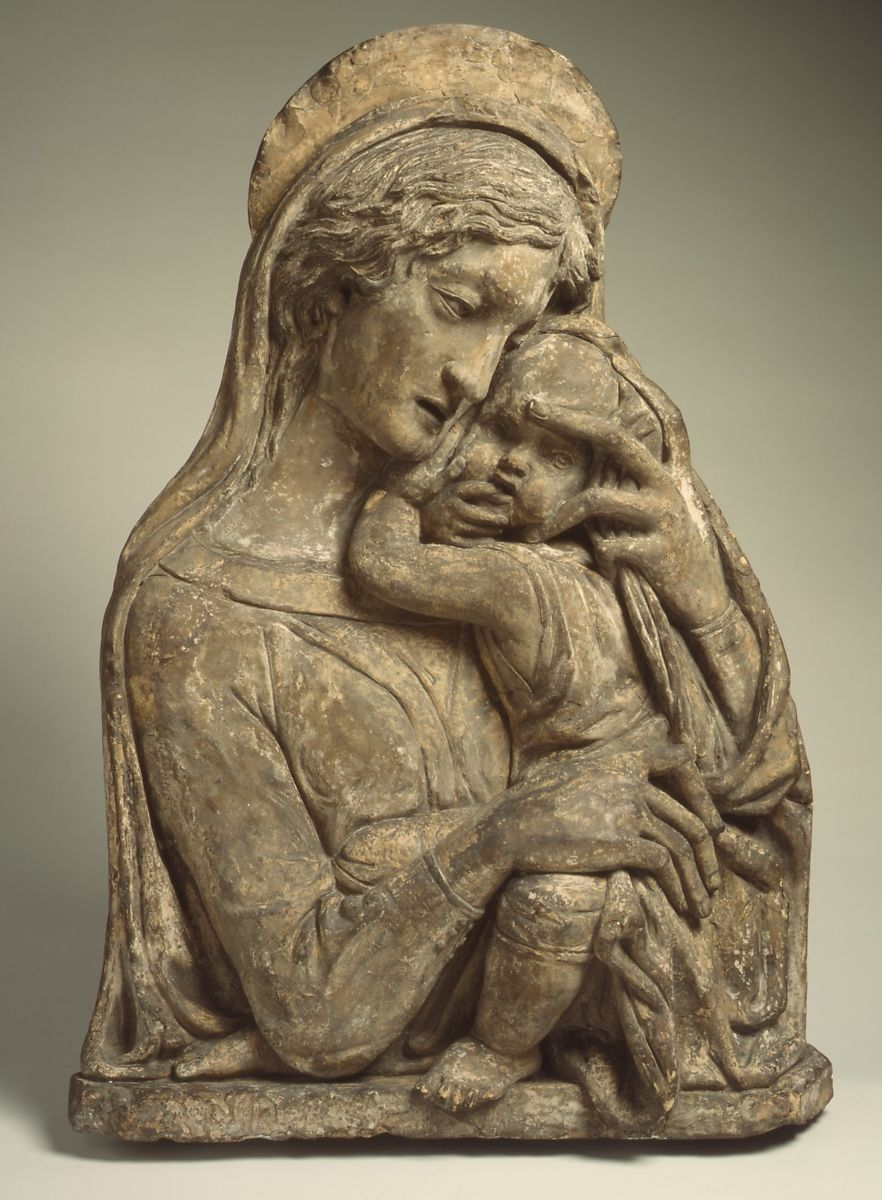 After a model by Donatello | Madonna and Child | Italian ...