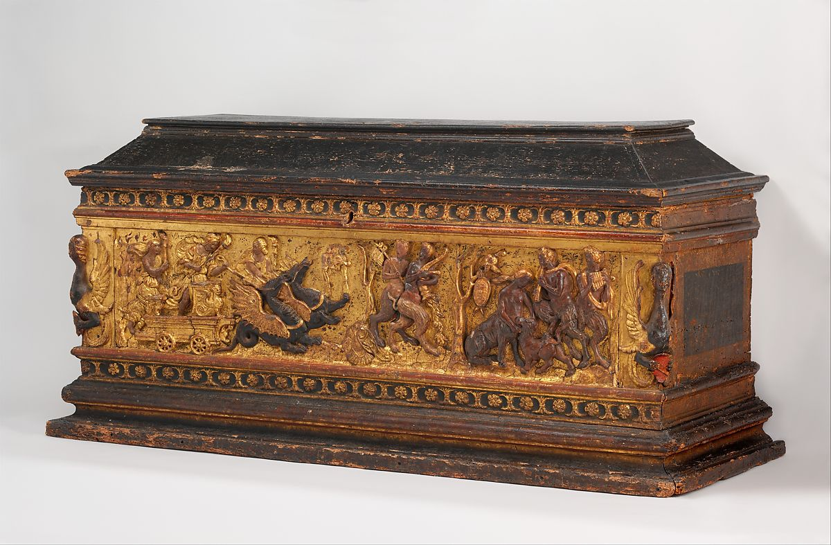 Painted Trunk Chest