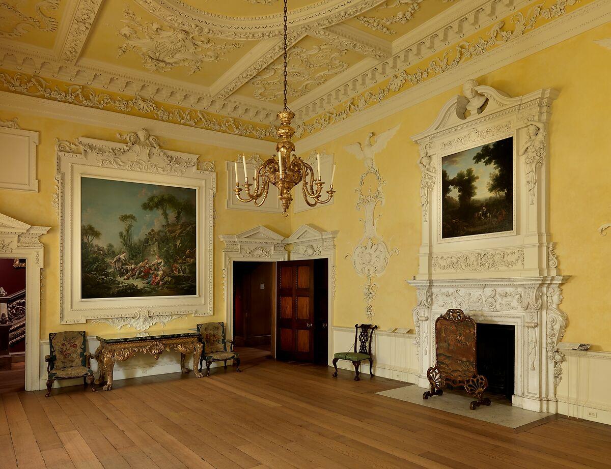 John Sanderson | Dining room from Kirtlington Park | British ...