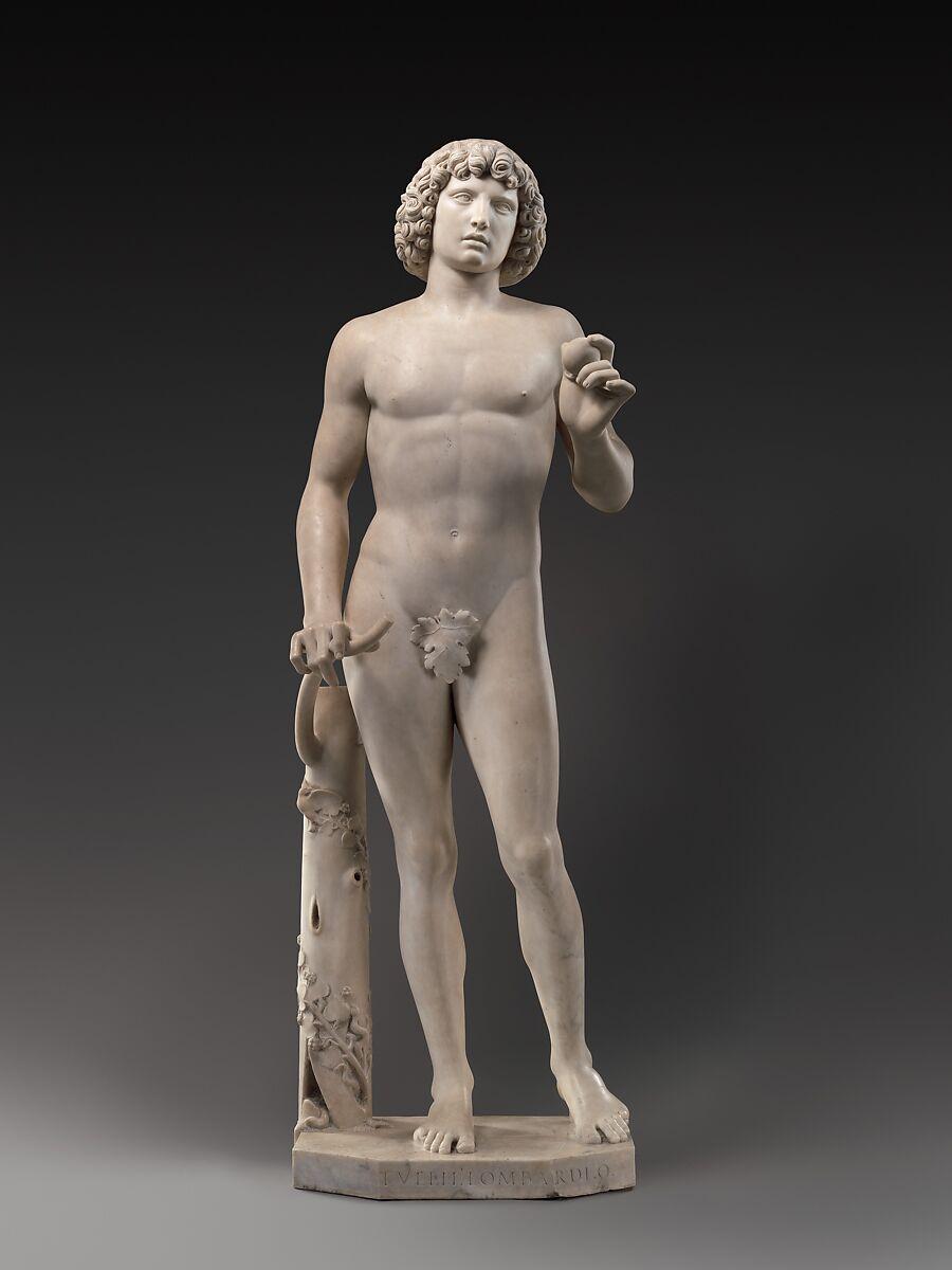 Tullio Lombardo   Adam   Italian, Venice   The Metropolitan Museum of Art