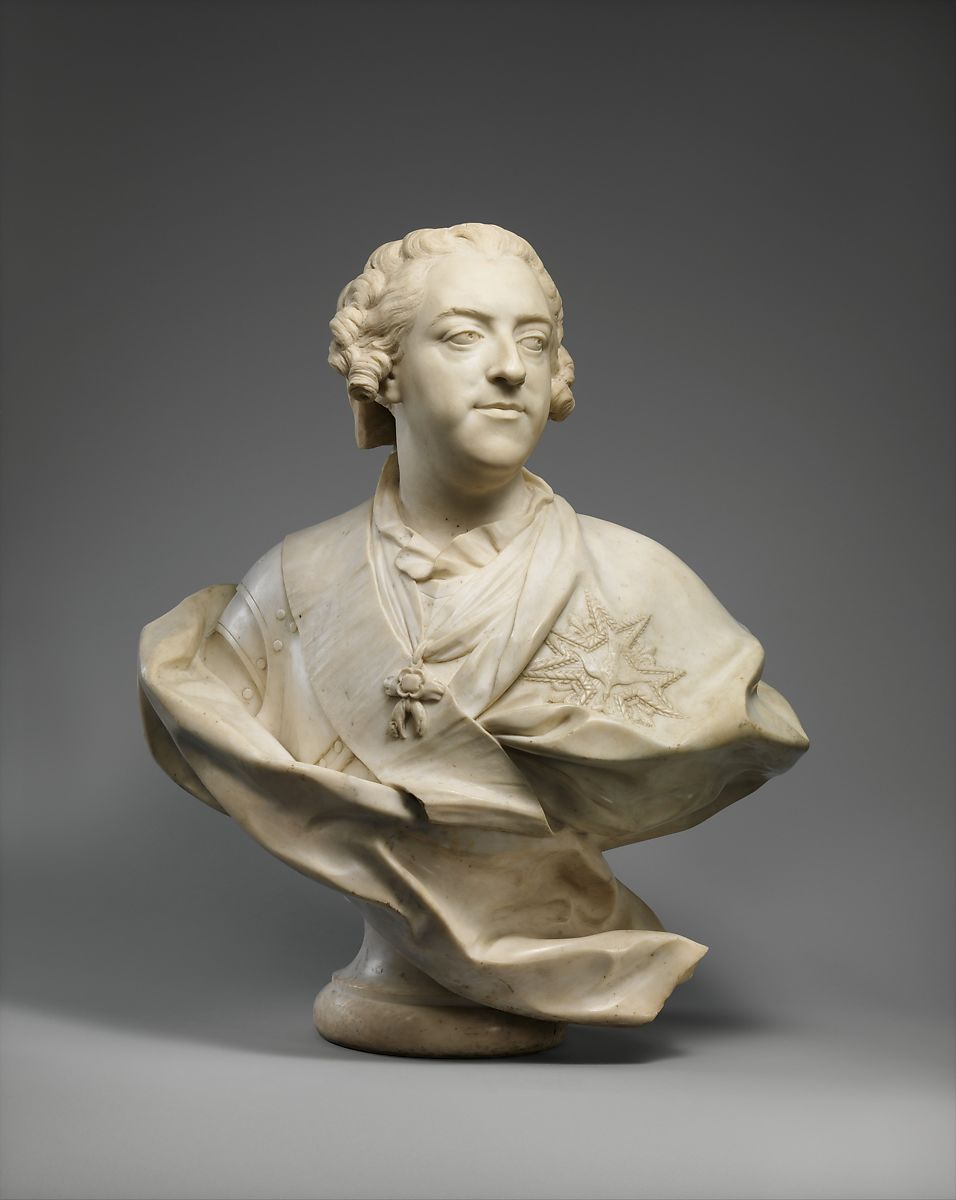 Jean-Baptiste Lemoyne the Younger | Louis XV (1710–1774), King of France | French, Paris | The Met