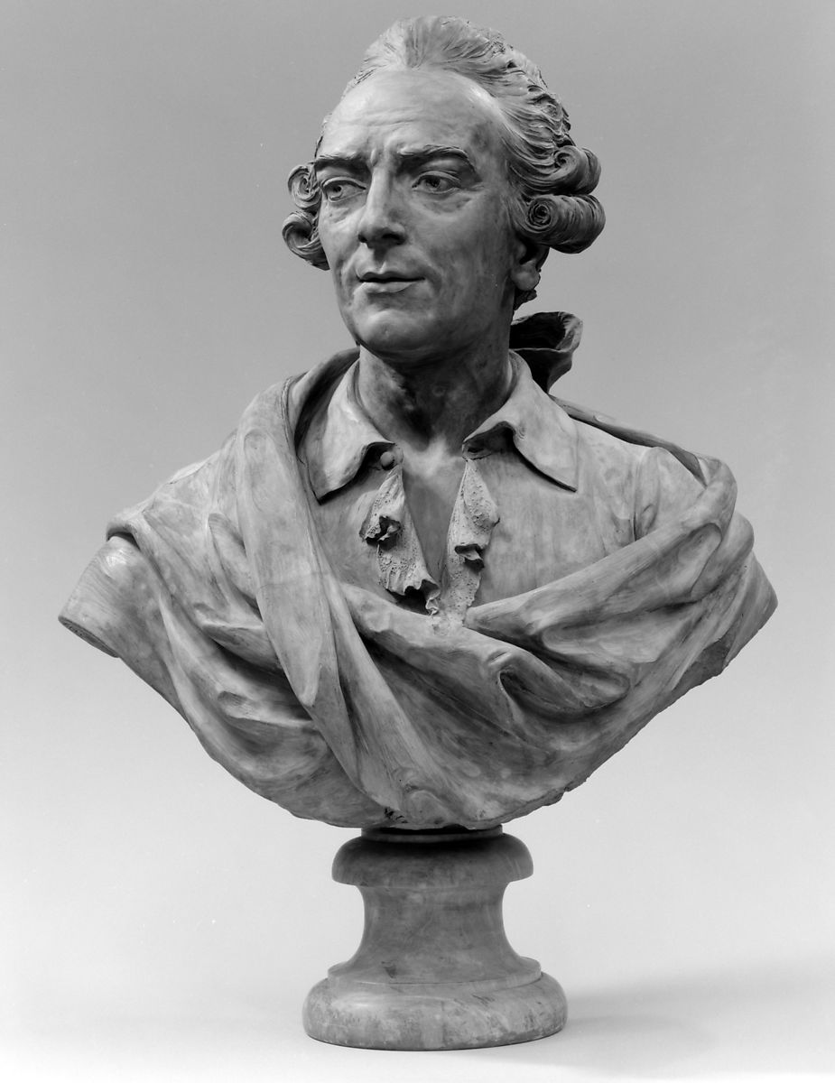 Pierre François Basan (1723–1797), Imitator of Augustin Pajou (French, Paris 1730–1809 Paris), Terracotta, French