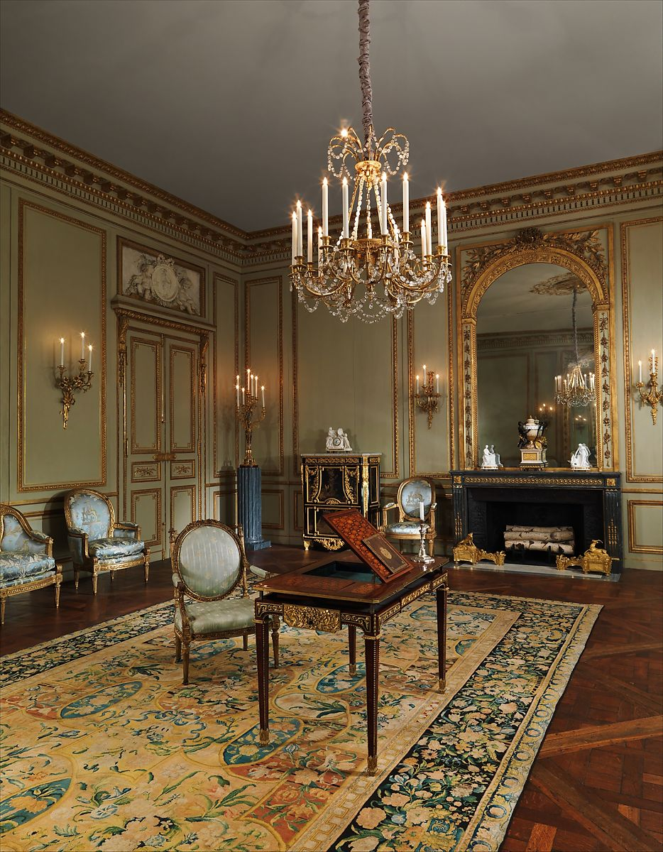 Made By Nicolas Huyot Grand Salon From The Hotel De Tesse