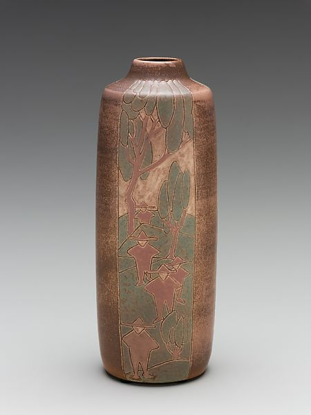 Overbeck Pottery Vase American The Met