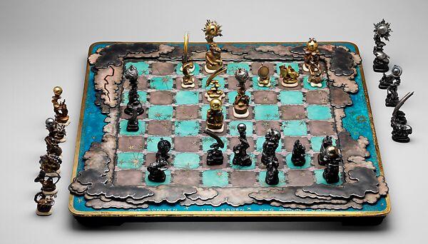 Max Esser | Chess set | German, Berlin | The Met