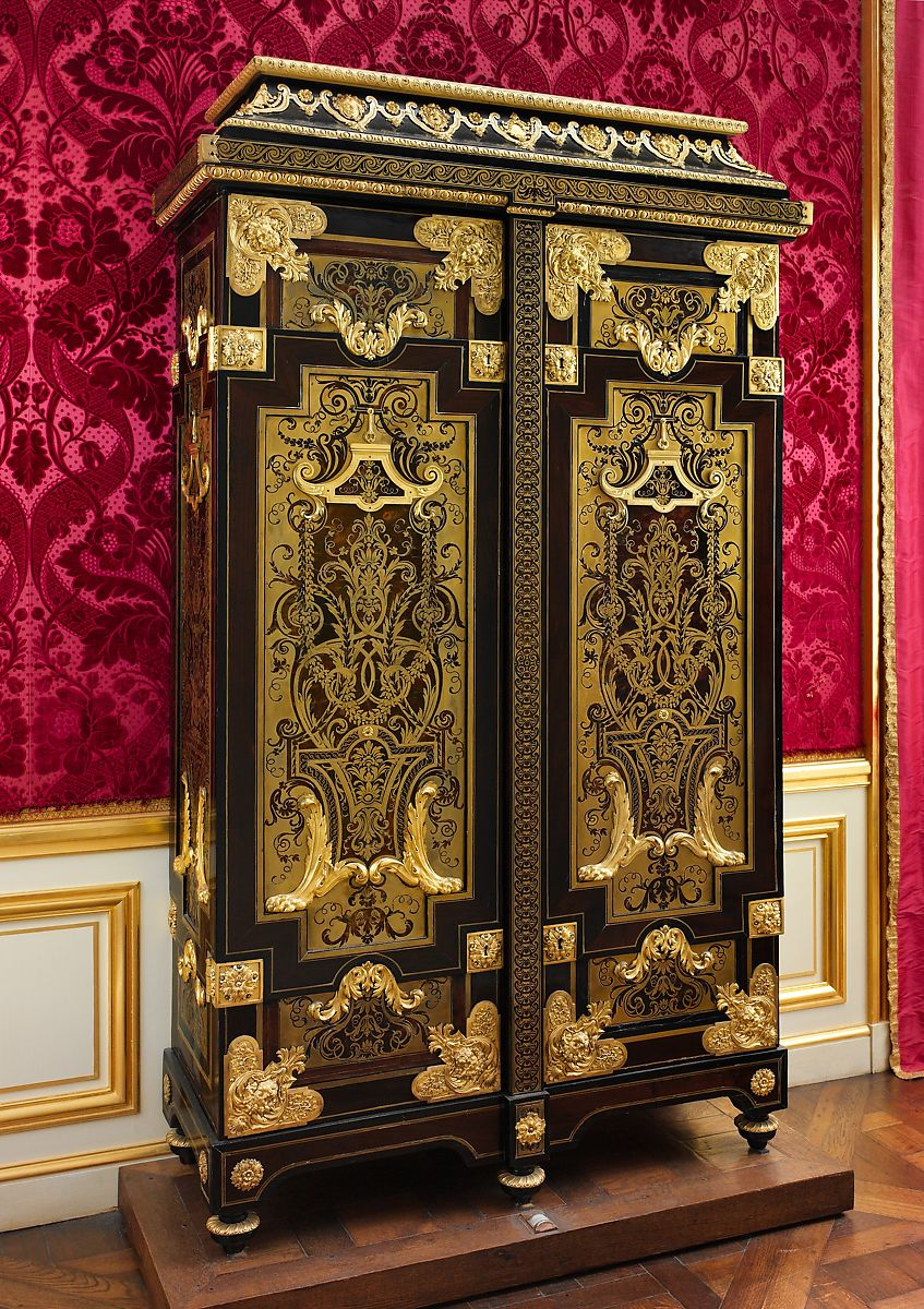 Attributed To Andr 233 Charles Boulle Cabinet French