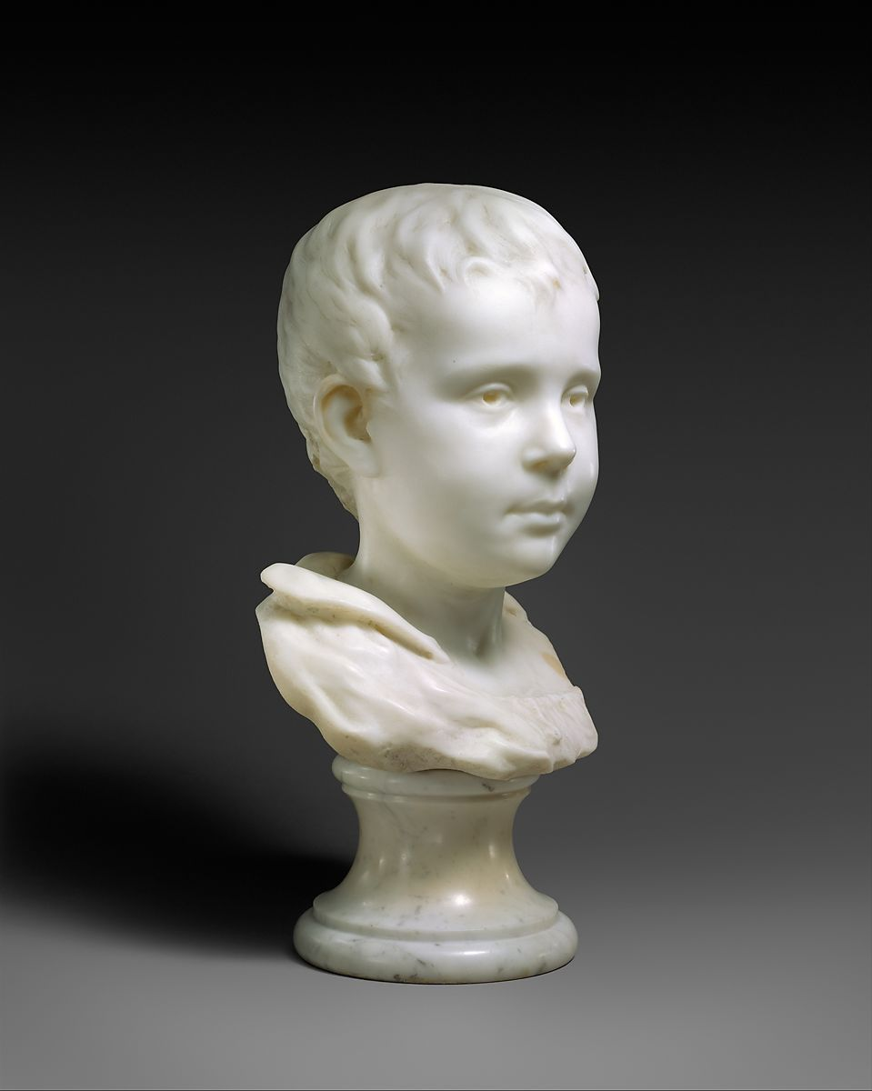 Emil Gauguin (1874–1955), the artist's son, Paul Gauguin (French, Paris 1848–1903 Atuona, Hiva Oa, Marquesas Islands), Marble, French