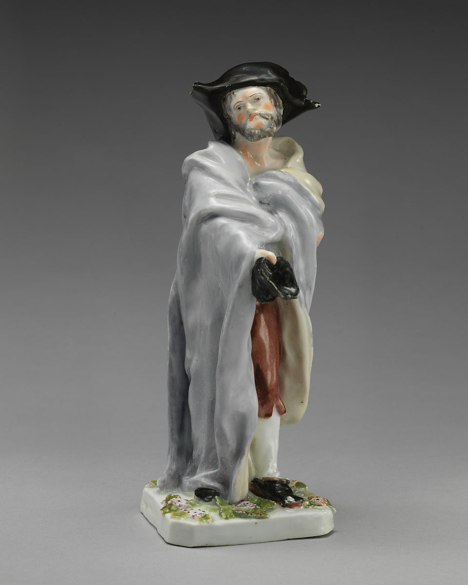 Chelsea Porcelain Manufactory | Beggar | British, Chelsea | The Met