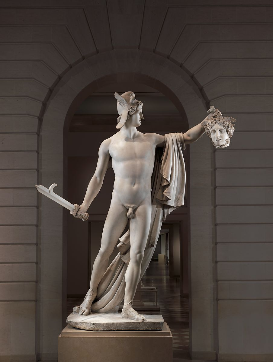 Antonio Canova Perseus With The Head Of Medusa Italian