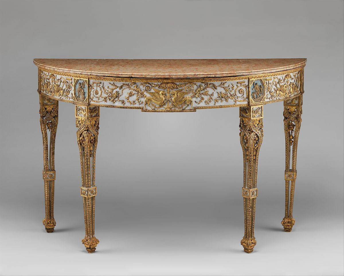 Attributed To Giuseppe Maria Bonzanigo | Console Table | Italian, Turin | The Metropolitan Museum Of Art