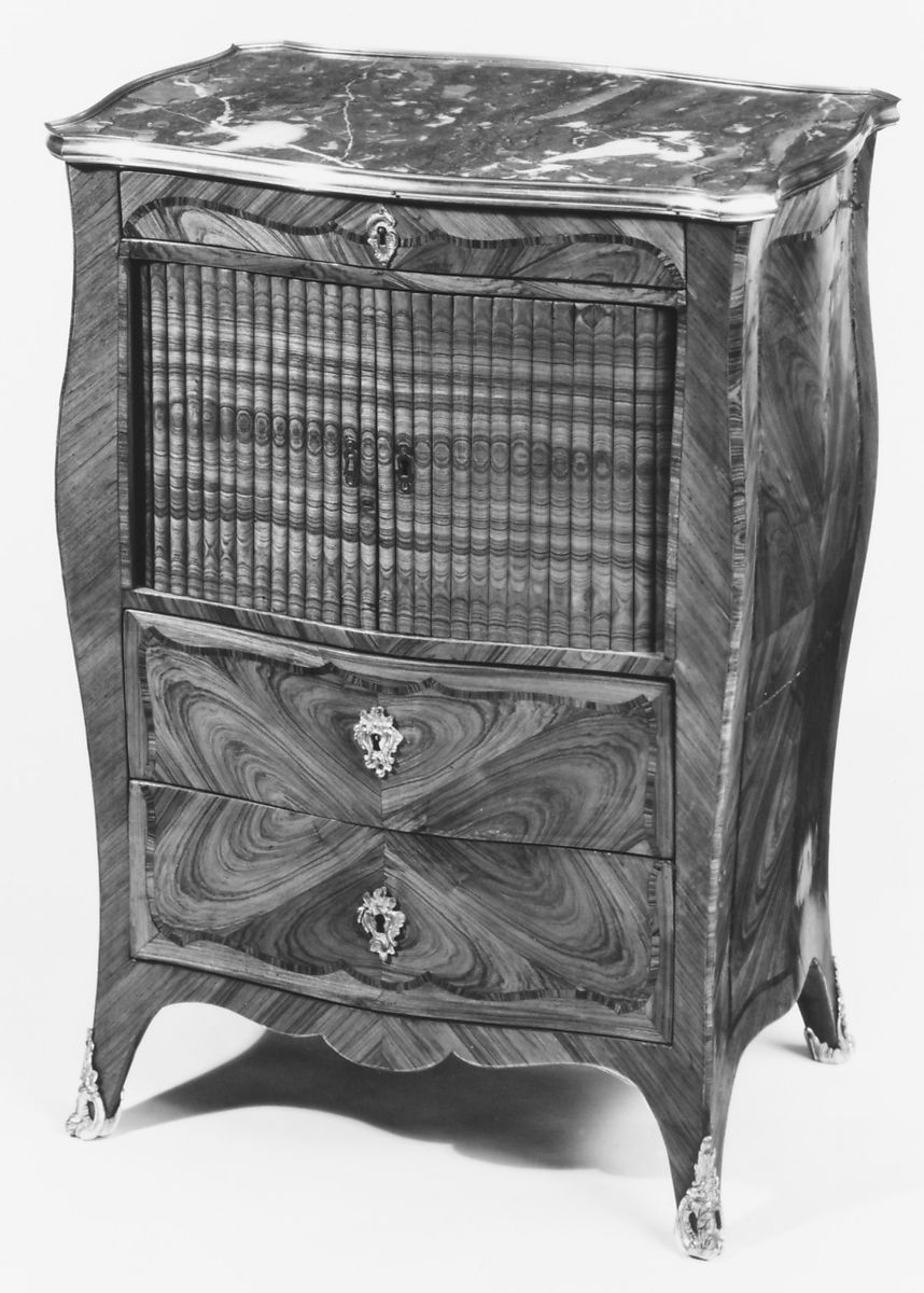 Bombe Sided Commode Table De Chevet French The Met